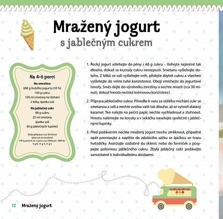 Náhled Mražené jogurty - Osvěžující pochoutky pro každou příležitost