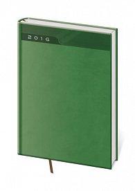 Diář 2016 - Print B5 týdenní - zelená