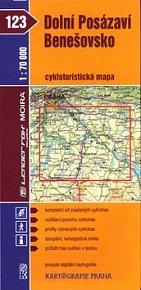 Dolní Posázaví, Benešovsko cykloturistická mapa 1:70 000