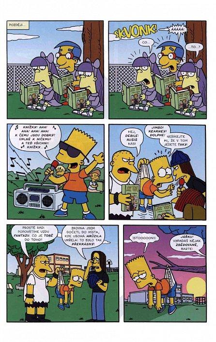 Náhled Simpsonovi - Bart Simpson 2/2016 - Záhadný kluk