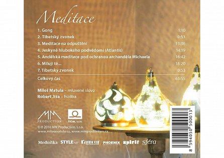 Náhled Meditace - CD