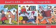 Kalendář 2011 - Josef Lada - Pohádky (30x16) stolní