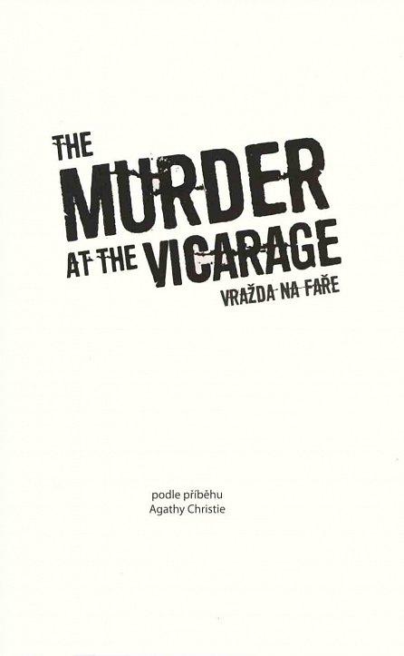 Náhled Vražda na faře / The Murder at the Vicarage - Zrcadlová četba
