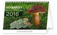 Kalendář stolní 2016 - Houbařský,  23,1 x 14,5 cm