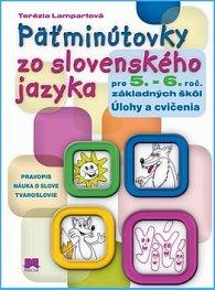 Päťminútovky zo slovenského jazyka pre 5. - 6. roč. základných škôl