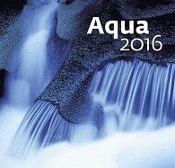 Kalendář nástěnný 2016 - Aqua