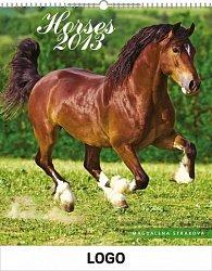 Kalendář 2013 - Koně praktik, 30 x 34 cm