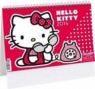 Hello Kitty 2014 - stolní kalendář