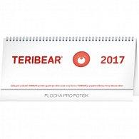 Kalendář stolní 2017 - Teribear