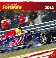 Kalendář 2013 poznámkový - Formule Jiří Křenek, 30 x 60 cm