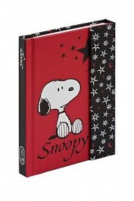 Snoopy 2, magnetic notes – 10,5x15,8 cm, linkovaný