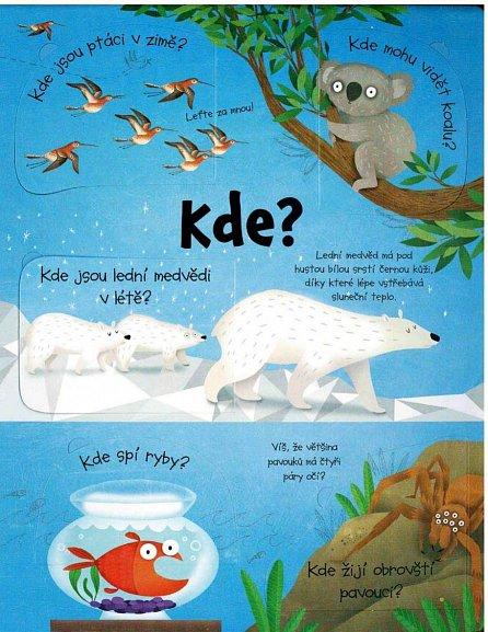 Náhled Otázky a odpovědi ze světa zvířat - Podívej se pod obrázek