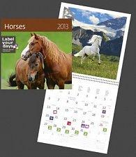 Horses - nástěnný kalendář 2013