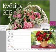 Květiny - stolní kalendář 2013