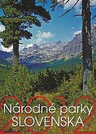 Národné parky Slovenska - nástěnný kalendář 2012
