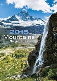 Kalendář nástěnný 2015 - Hory