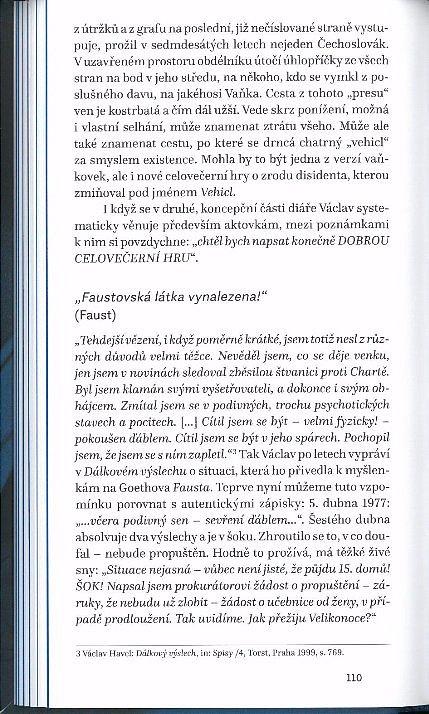 Náhled Zápisky obviněného - Diář Václava Havla 1977