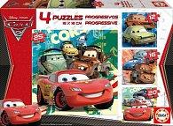 Puzzle Cars 2  12,16,20 a 25 dílků