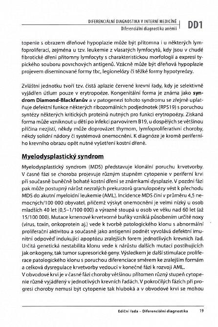 Náhled Diferenciální diagnostika v interní medicíně