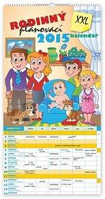 Kalendář 2015 - Rodinný plánovací XXL