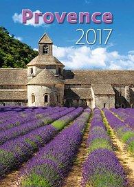 Kalendář nástěnný 2017 - Provence 315x450cm