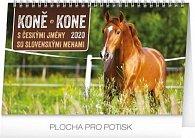 Kalendář stolní 2020 - Koně – Kone CZ/SK, 23,1 × 14,5 cm