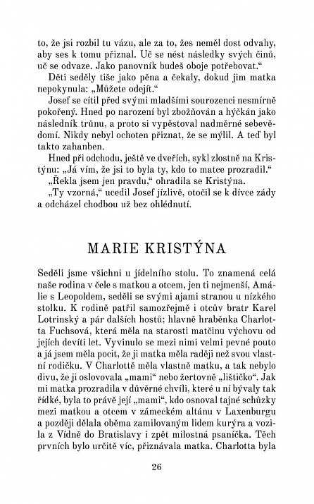 Náhled Marie Kristýna, nejmilejší dcera Marie Terezie