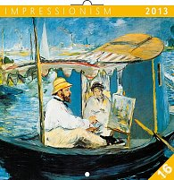 Kalendář 2013 poznámkový - Impresionismus, 30 x 60 cm