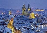 Svět - nástěnný kalendář 2013