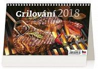 Kalendář stolní 2018 - Grilování