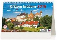 Kalendář stolní 2018 - Křížem krážem Českou republikou