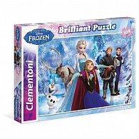 Puzzle Briliant Ledové království 104 dílků