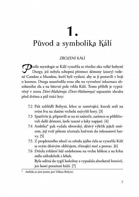Náhled Tantrická Kálí - Mytologie, tajné techniky a rituály
