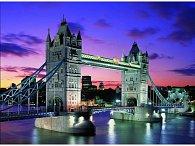 Puzzle Noční TOWER BRIDGE, 1000 dílků