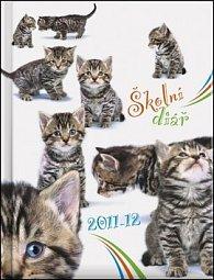 Kočky - Školní diář 2011/12