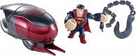 Mattel Superman figurky a vozidla
