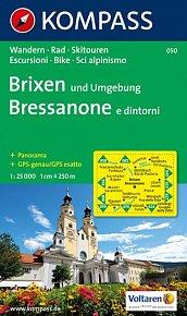 Brixen und Umgebung Bressanone 050 / 1:25T NKOM
