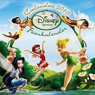 Walt Disney Víly  2010 - nástěnný kalendář