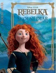 Diář - W. Disney Rebelka školní diář září 2013 - prosinec 2014