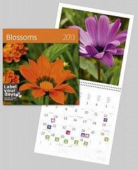 Blossoms - nástěnný kalendář 2013