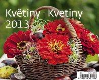 Kalendář stolní 2013 MiniMax - Květiny