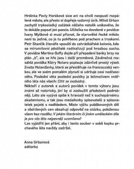 Náhled Město mezi zelenými kopci - Antologie povídek českých autorů