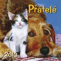 Přátelé - nástěnný kalendář 2013
