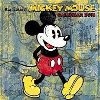 Walt Disney - Mickey Retro 2010 - nástěnný kalendář