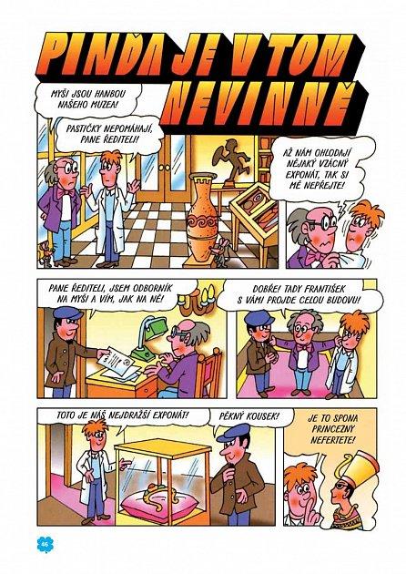 Náhled Tajemné příběhy Čtyřlístku 1997 (13. kniha)