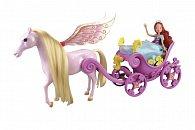 Winx: kočár s koněm a princezna Bloom (1/2)