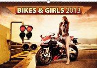 Kalendář 2013 nástěnný - Bikes & Girls, 48 x 33 cm