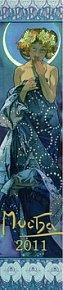 Kalendář 2011 - Alfons Mucha (10,5x48) nástěnný
