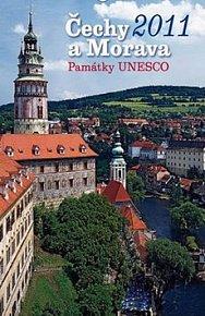 Kalendář 2011 - Čechy a Morava - Památky UNESCO (33x46) nástěnný