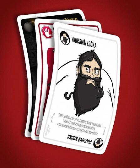 Náhled Výbušná koťátka - karetní hra